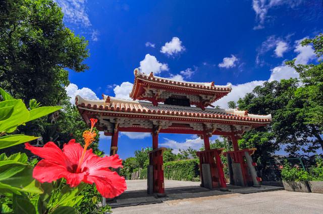 沖縄首里城写真